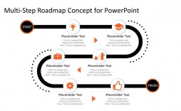 001 Amazing Road Map Template Powerpoint High Def  Roadmap Ppt Free Download Product