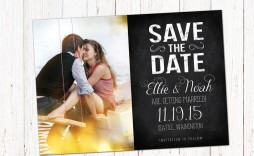 001 Amazing Save The Date Template Photoshop Picture  Adobe Card