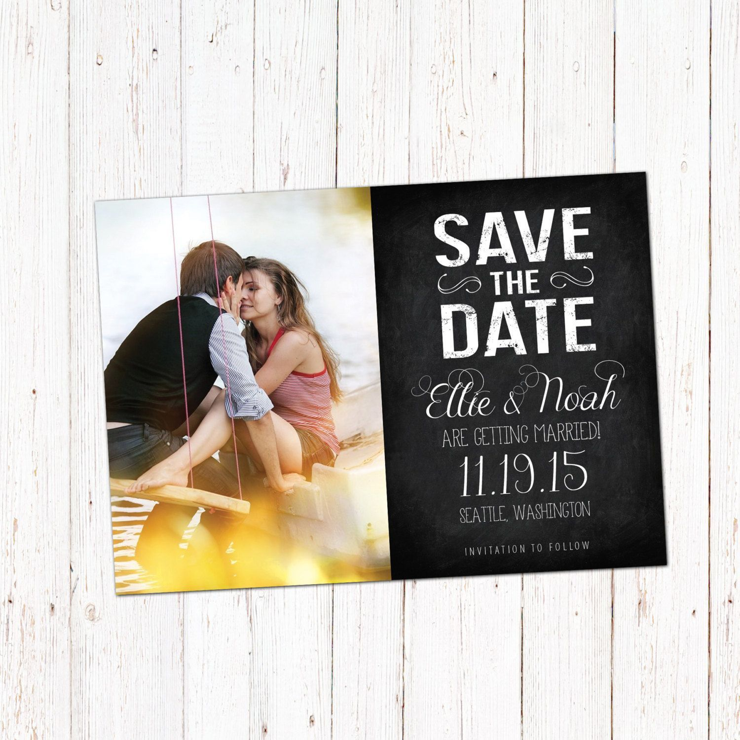 001 Amazing Save The Date Template Photoshop Picture  Adobe CardFull
