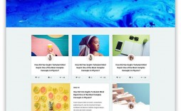 001 Amazing Simple Html Blog Template Free Download Inspiration  With Cs