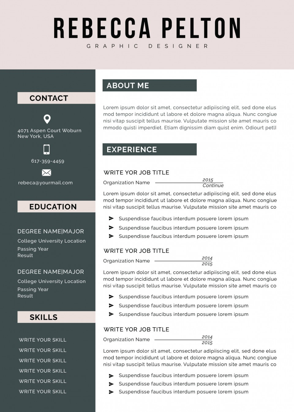 001 Amazing Student Resume Template Word Concept  High School Free College Microsoft Download960