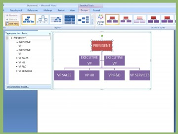 001 Archaicawful Organizational Chart In Microsoft Powerpoint 2010 Image 360