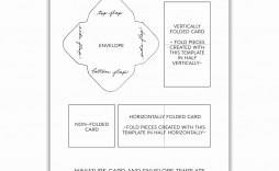 001 Archaicawful Quarter Fold Greeting Card Template Free Example