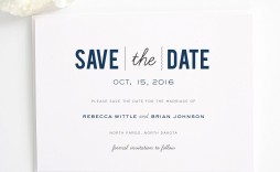 001 Archaicawful Save The Date Template Word Highest Quality  Free Customizable For Holiday Party