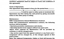 001 Archaicawful Service Contract Template Doc Idea  Docx Simple Level Agreement