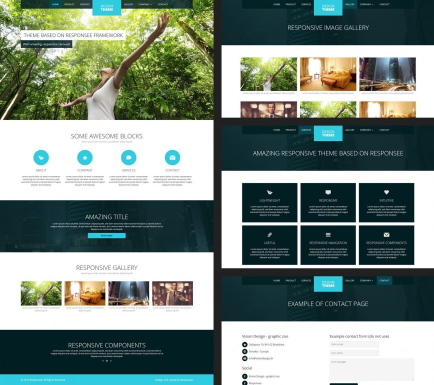 001 Archaicawful Website Design Template Free Idea  Download Psd File Web