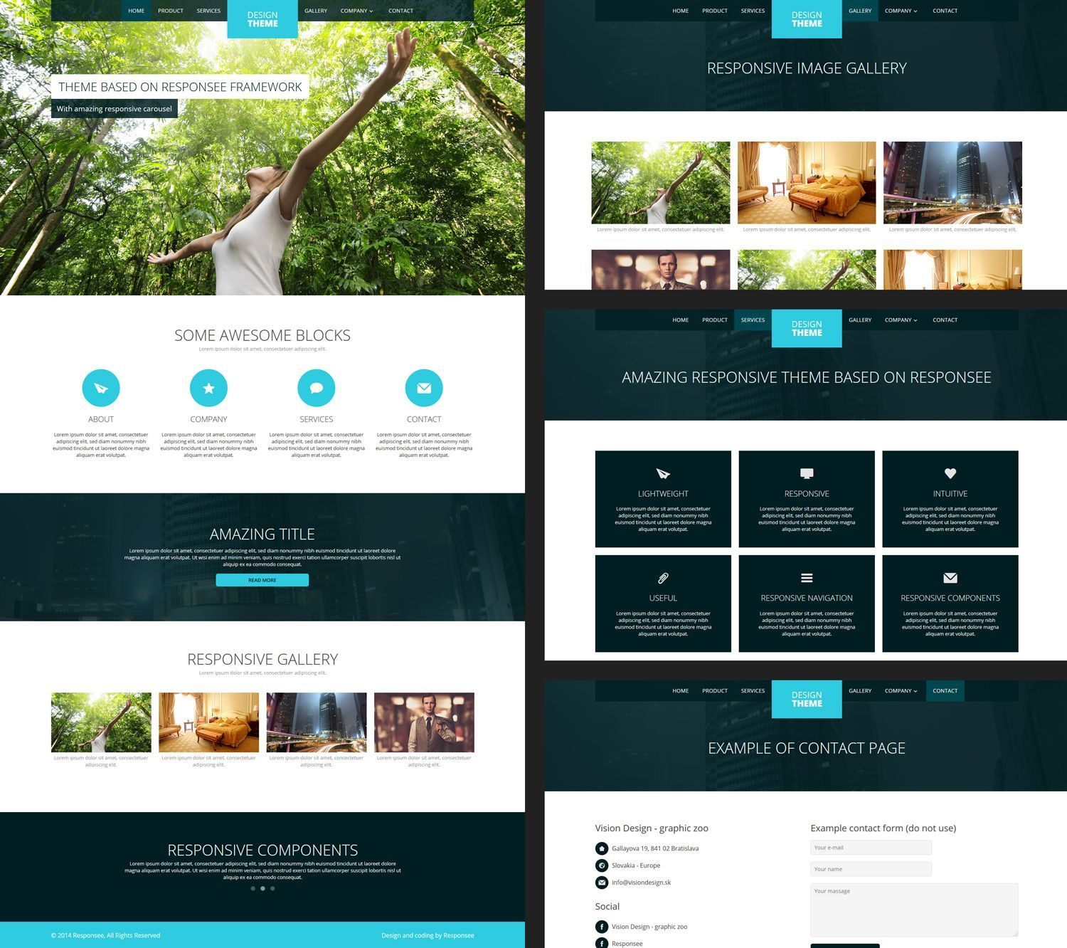 001 Archaicawful Website Design Template Free Idea  Asp.net Web Download PsdFull