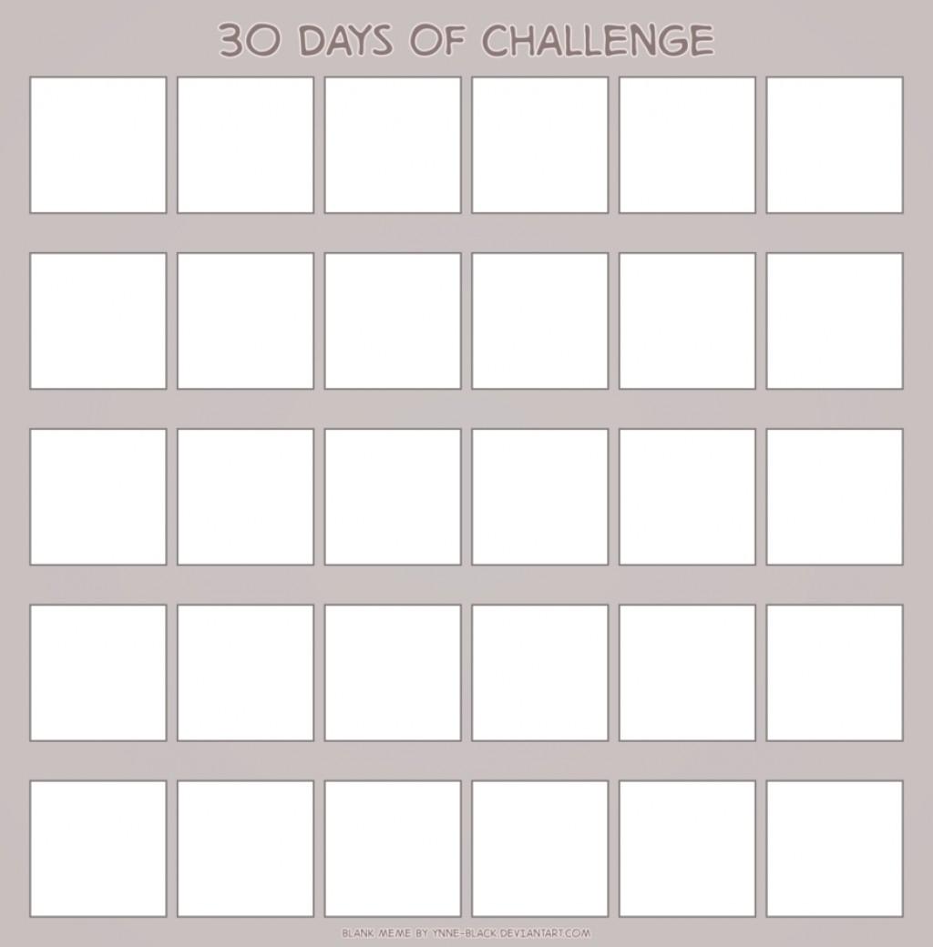 001 Astounding 30 Day Calendar Template Idea  Pdf Free BlankLarge