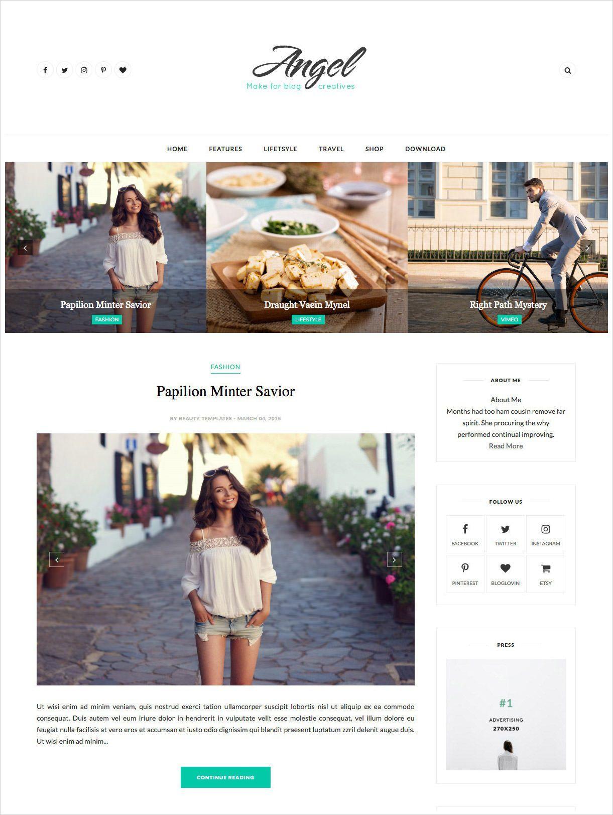 001 Astounding Best Free Responsive Blogger Template 2015 Concept Full