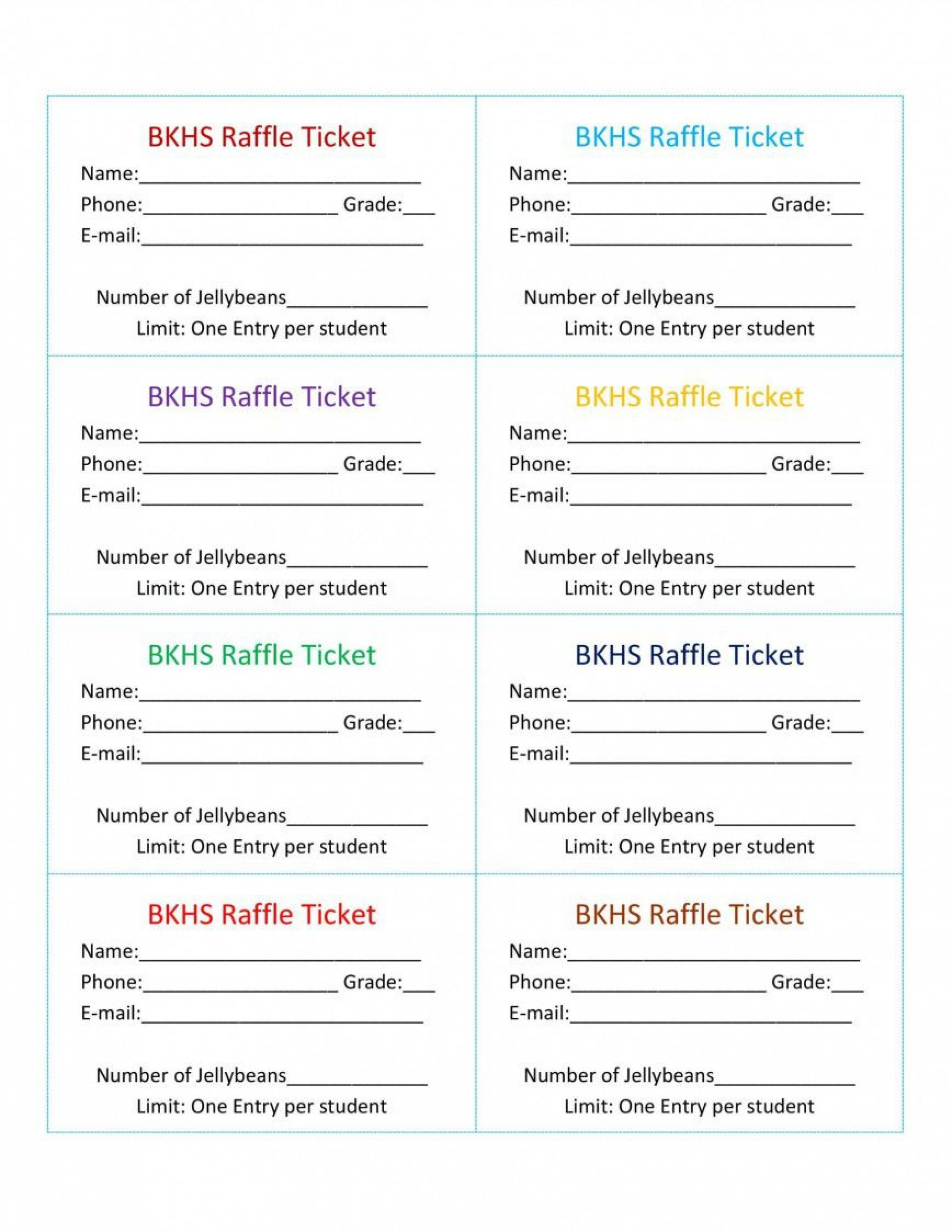 001 Astounding Free Raffle Ticket Template Inspiration  Word 10 Per Page For Mac Download1920