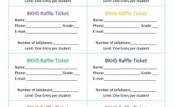 001 Astounding Free Raffle Ticket Template Inspiration  Word 10 Per Page For Mac Download