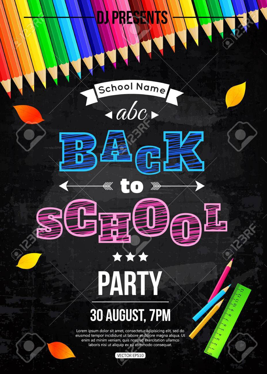 001 Astounding Free School Disco Flyer Template Highest Clarity  Templates PosterFull