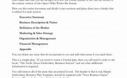 001 Astounding Microsoft Word Busines Plan Template Image  Templates 2007 2010 Free Download
