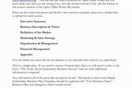 001 Astounding Microsoft Word Busines Plan Template Image  2010 2007