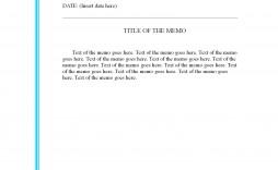 001 Astounding Microsoft Word Memo Template Photo  Templates Free Download
