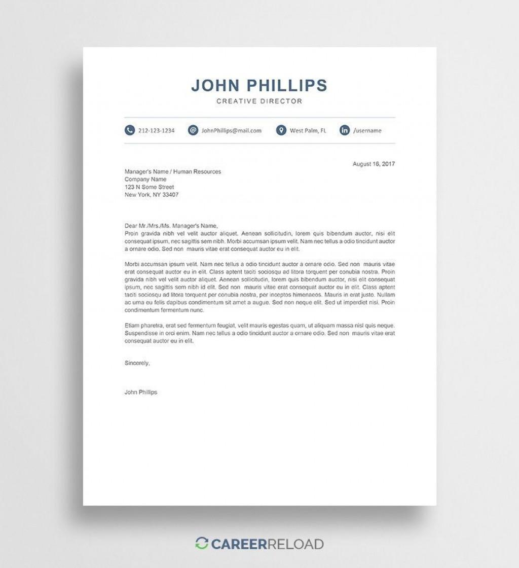 001 Astounding Modern Cover Letter Example Image  2019 SampleLarge