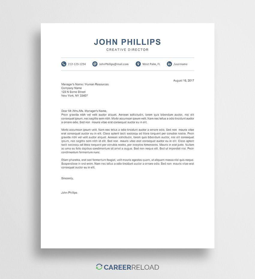 001 Astounding Modern Cover Letter Example Image  2019 SampleFull
