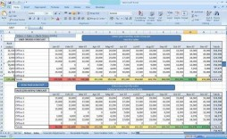 001 Astounding Multiple Project Cost Tracking Template Excel Inspiration  Budget