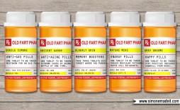 001 Astounding Pill Bottle Label Template High Def  Vintage Medicine Printable Free