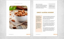 001 Astounding Recipe Book Template Word Photo  Mac Free Microsoft