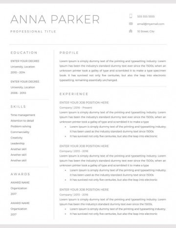 001 Astounding Resume Microsoft Word Template High Resolution  Cv/resume Design Tutorial With Federal Download360