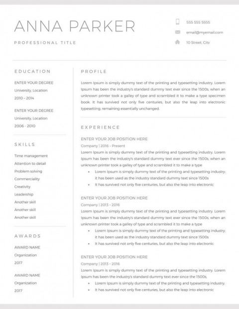 001 Astounding Resume Microsoft Word Template High Resolution  Cv/resume Design Tutorial With Federal Download480