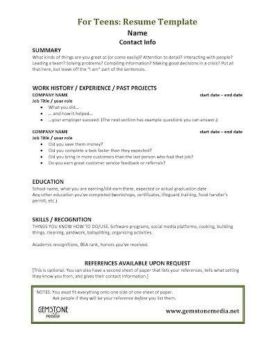 001 Astounding Resume Template For Teen Design  Teenager First Job AustraliaFull