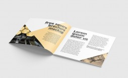 001 Astounding Square Brochure Template Psd Free Download Photo