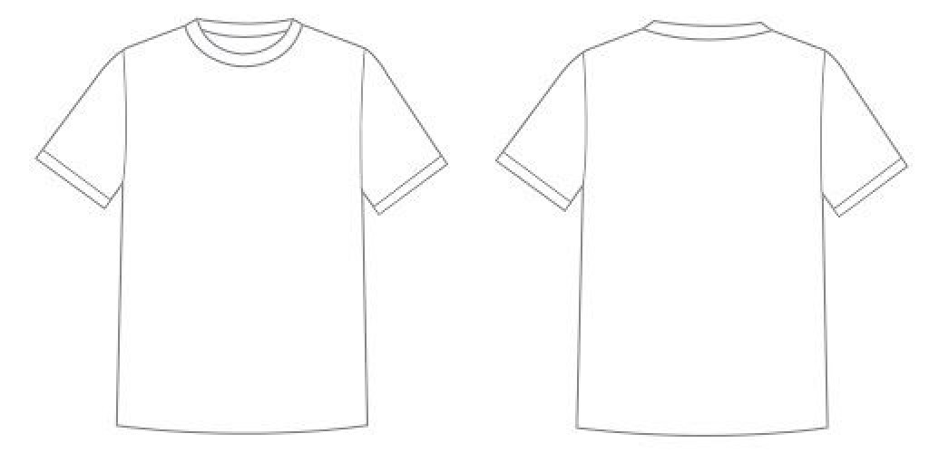001 Astounding T Shirt Design Template Psd High Definition  Blank T-shirt EditableLarge