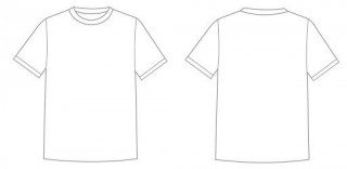 001 Astounding T Shirt Design Template Psd High Definition  Designing Photoshop Free Download Blank T-shirt320