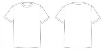 001 Astounding T Shirt Design Template Psd High Definition  Blank T-shirt Free Download Layout Photoshop360