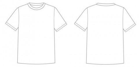 001 Astounding T Shirt Design Template Psd High Definition  Designing Photoshop Free Download Blank T-shirt480