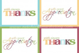 001 Astounding Thank You Note Template Free Printable Highest Quality