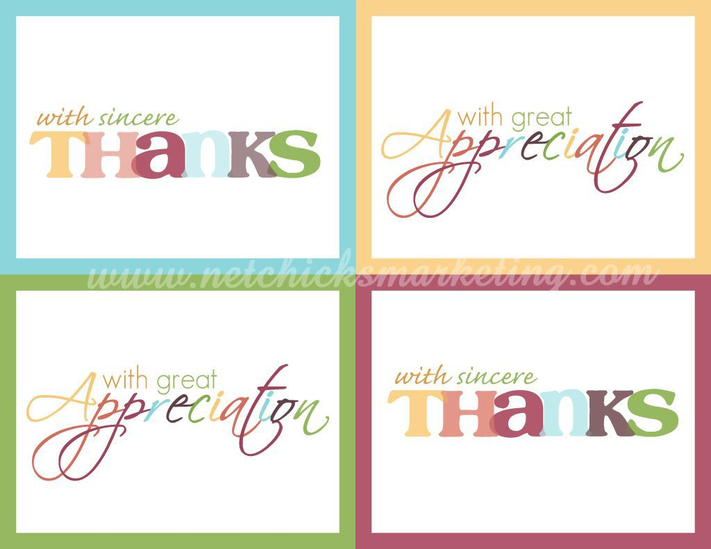 001 Astounding Thank You Note Template Free Printable Highest Quality Full