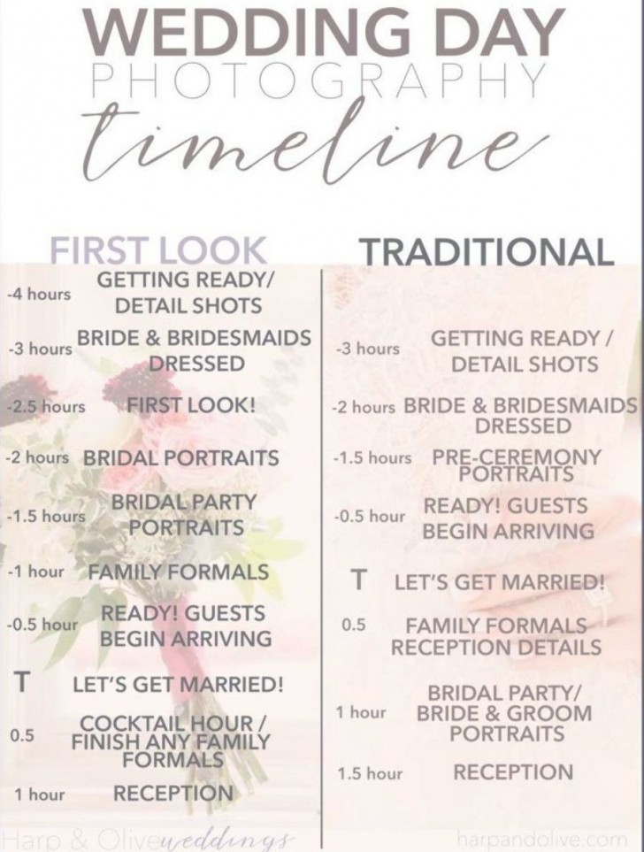 001 Astounding Wedding Timeline For Guest Template Free Inspiration  Download728