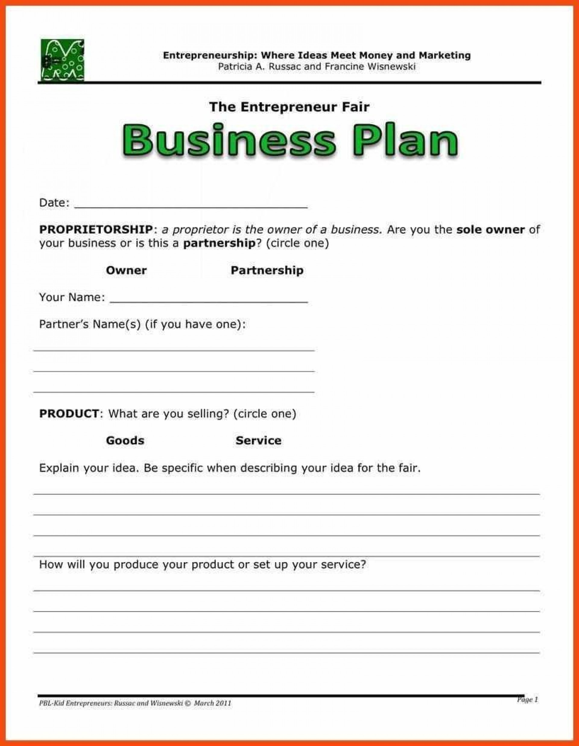 001 Awesome Basic Busines Plan Template High Resolution  Simple Word Download Easy Free Australia1920