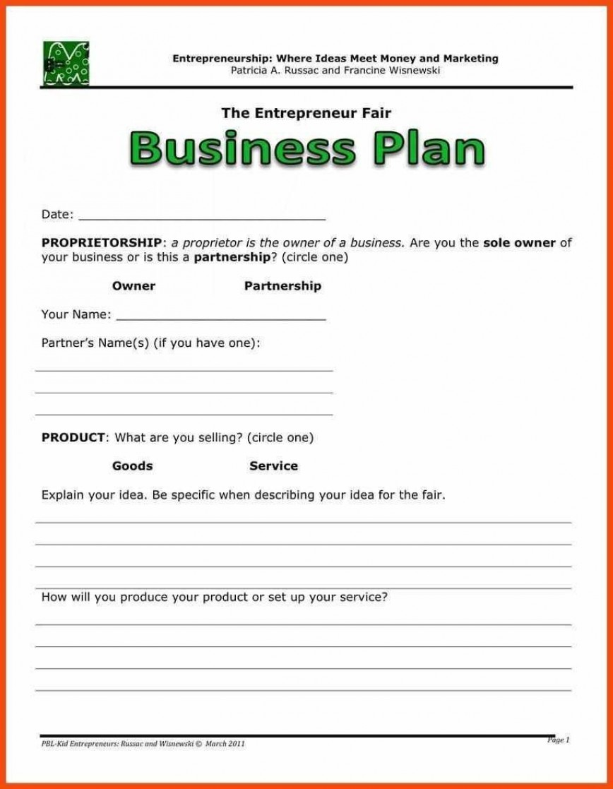 001 Awesome Basic Busines Plan Template High Resolution  Easy Word Uk Free Download Excel