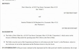 001 Awesome Busines Sale Agreement Template Image  Free Download Uk Contract Word