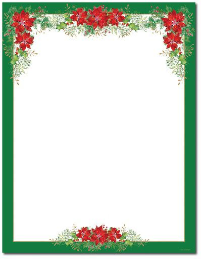 001 Awesome Christma Stationery Template Microsoft Word High Definition  FreeFull