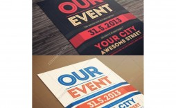 001 Awesome Event Flyer Template Free Photo  Word Download Psd