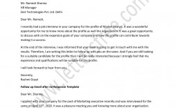 001 Awesome Follow Up Email Template After No Response Picture