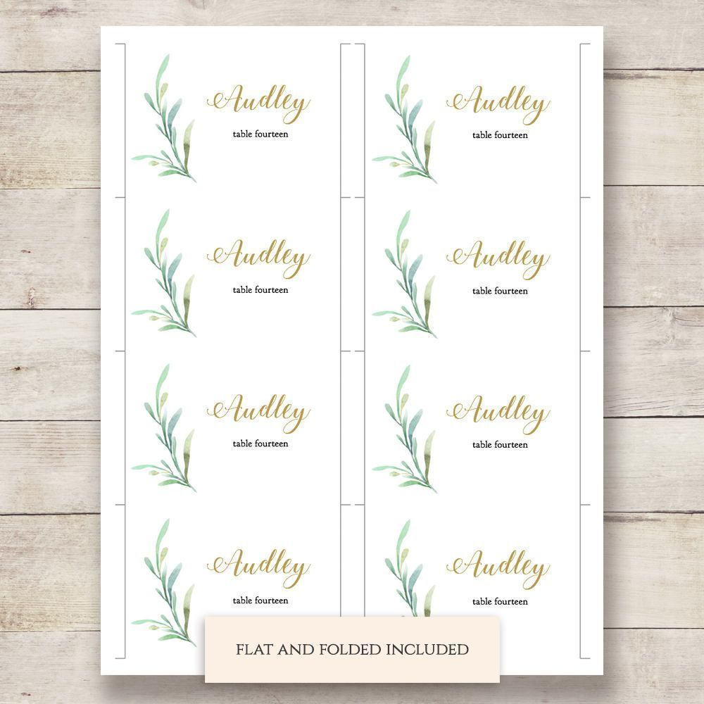 001 Awesome Name Place Card Template For Wedding Highest Quality  Free WordFull