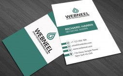 001 Awesome Simple Visiting Card Template Idea  Templates Busines Psd Design File Free Download