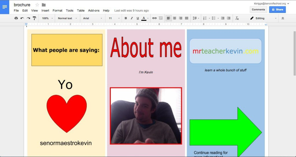 001 Awesome Three Fold Brochure Template Google Doc Photo  DocsLarge