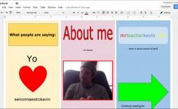 001 Awesome Three Fold Brochure Template Google Doc Photo  Docs