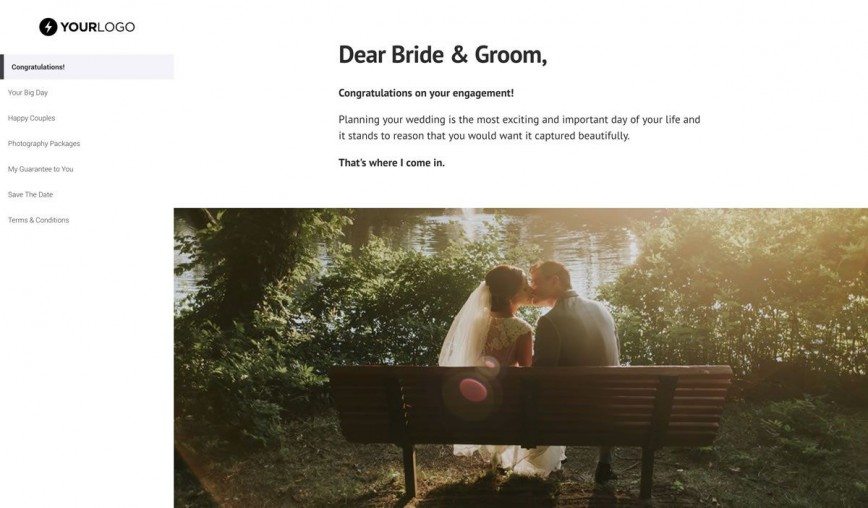 001 Awesome Wedding Photography Busines Plan Example High Definition  Of Sample868