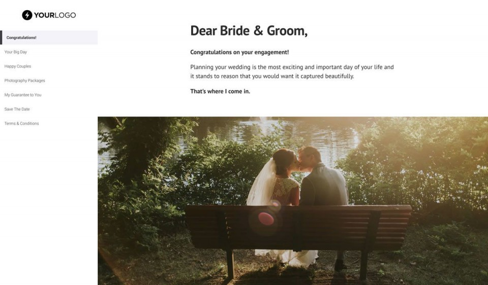 001 Awesome Wedding Photography Busines Plan Example High Definition  Of Sample960