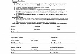 001 Awesome Wedding Planner Contract Template High Def  Uk Australia