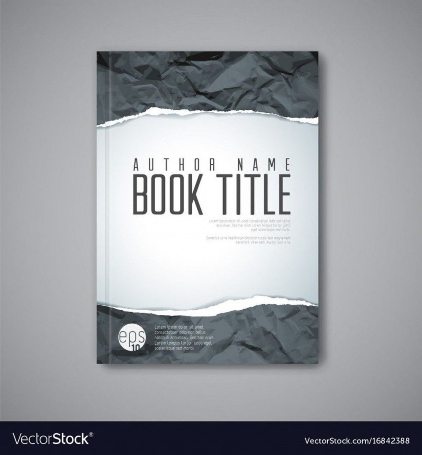 001 Awful Book Cover Template Free Download Image  Illustrator Jacket Doc