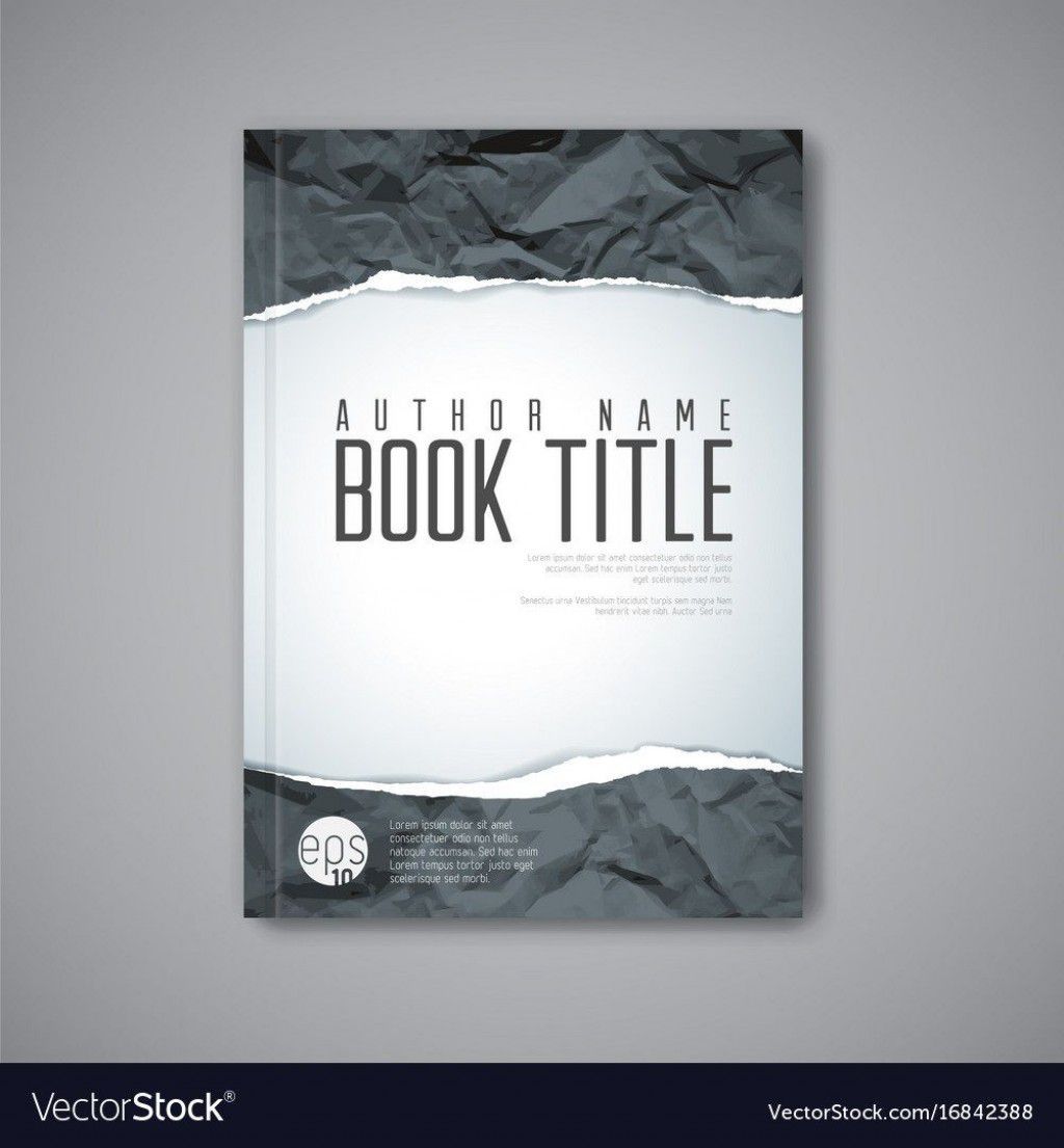 001 Awful Book Cover Template Free Download Image  Illustrator Design Vector IllustrationFull